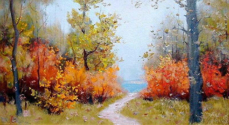 Георгий Задорожнюк. Осень у моря