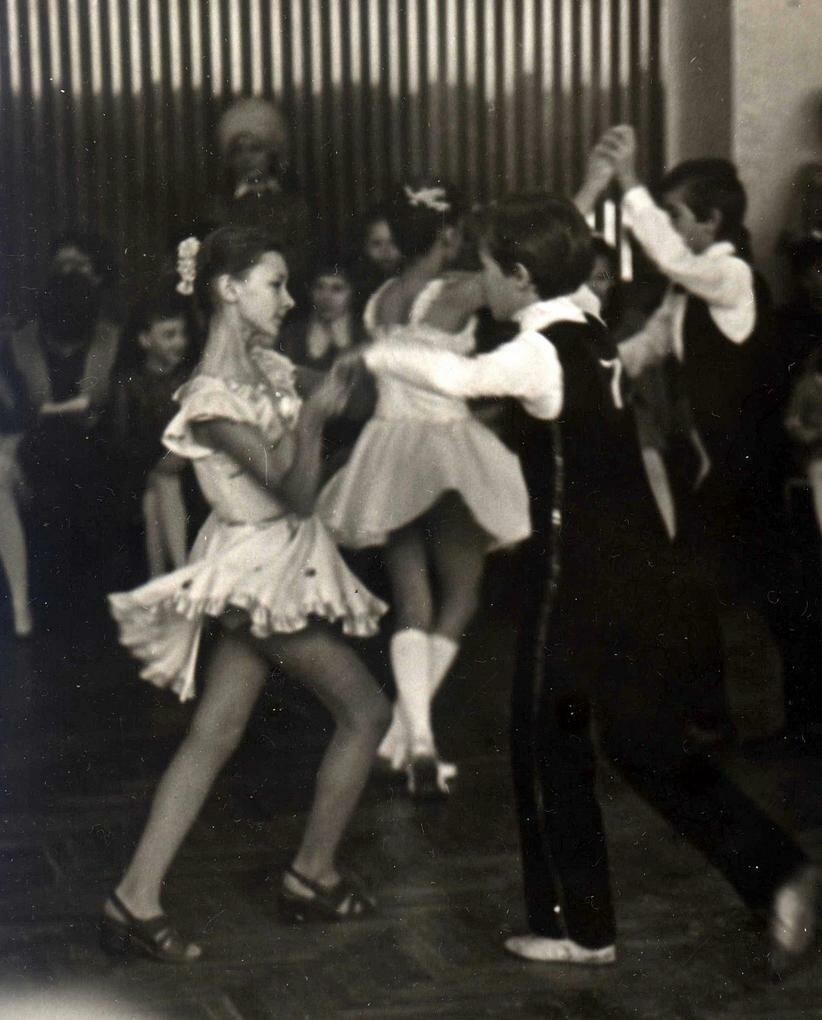Бальные танцы в СССР - Полька - YouTube