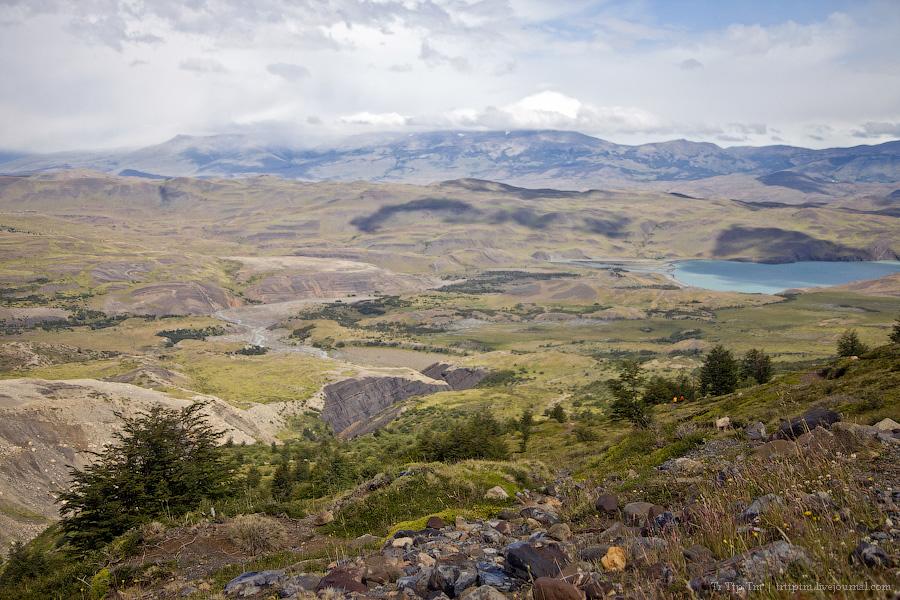 13. Восхождение к Голубым Башням и животный мир Южной Патагонии