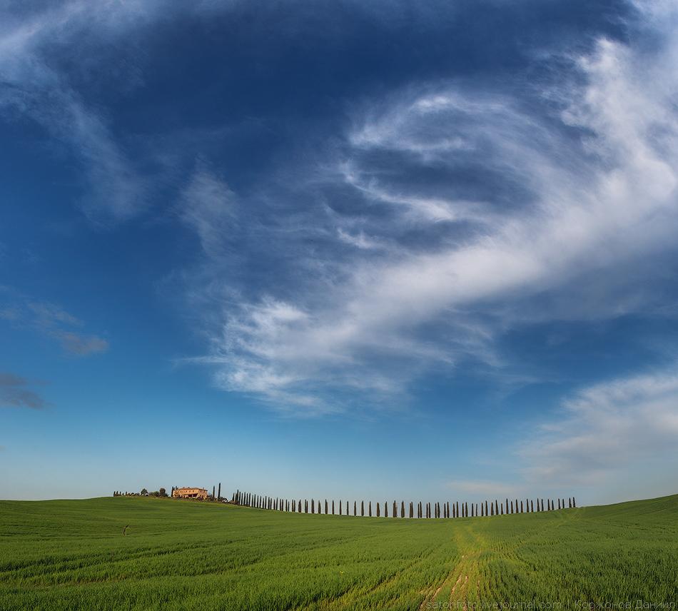 Смотреть небо тосканы