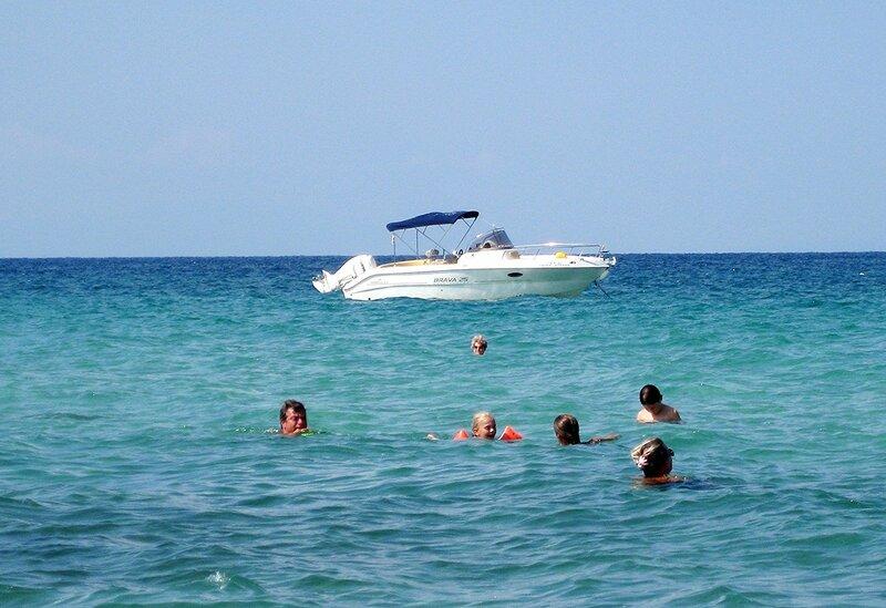 В тёплых водах Эгейского моря