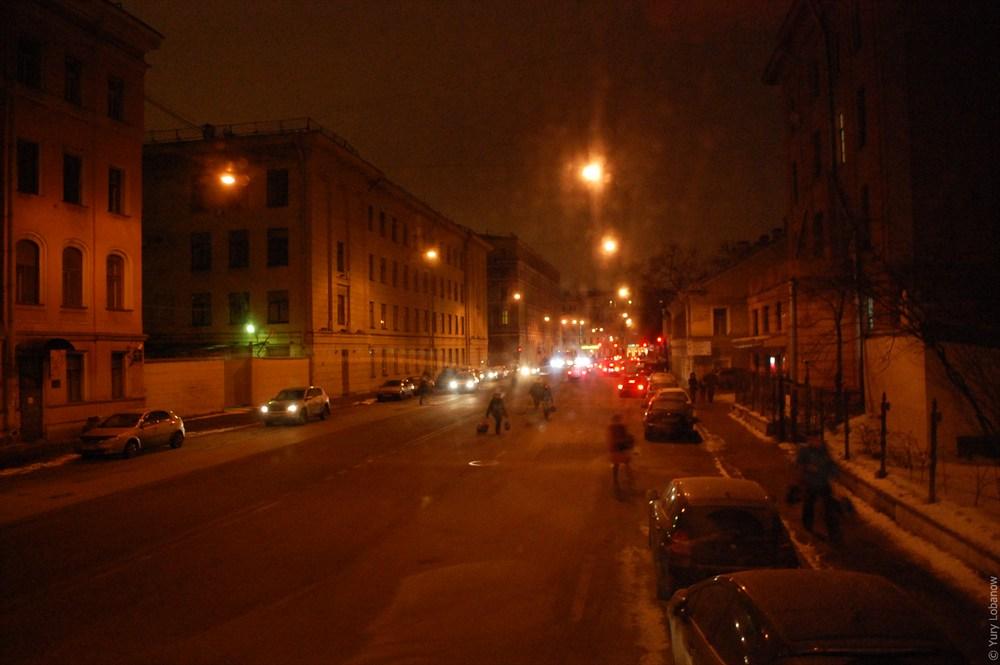угол Греческого проспекта и Второй Советской улицы