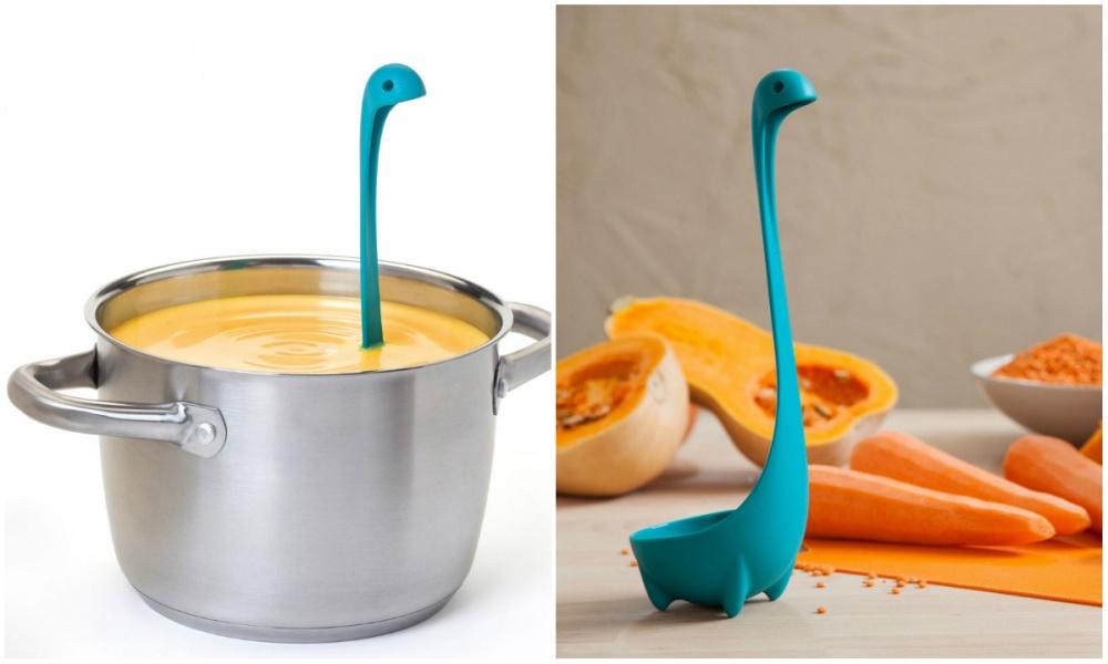 Дизайнеры компании Ototo придумали половник, который будет терроризировать горячие глубины ваших суп