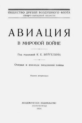 Книга Авиация в мировой войне. Воздушный флот в мировой войне