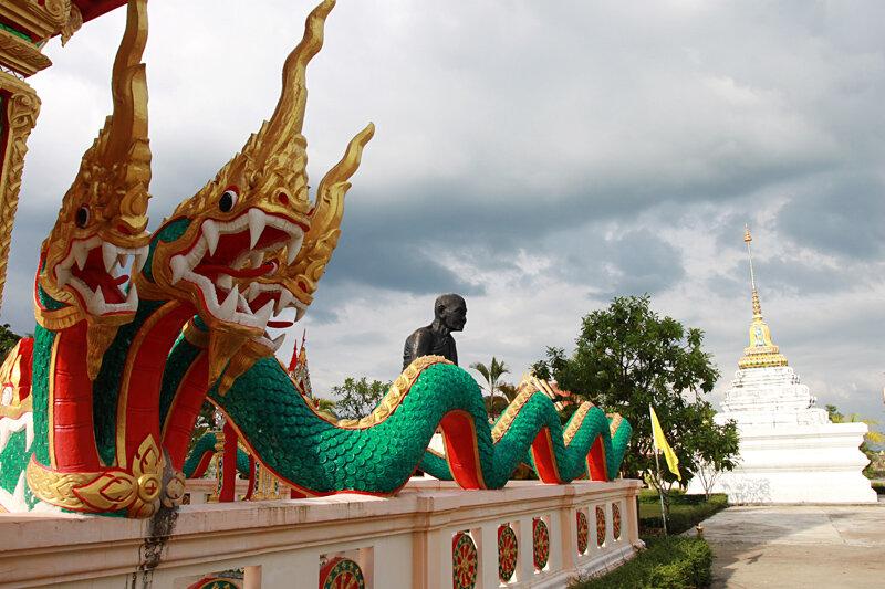 Монастырь в провинции Пханг Нга. Тайланд