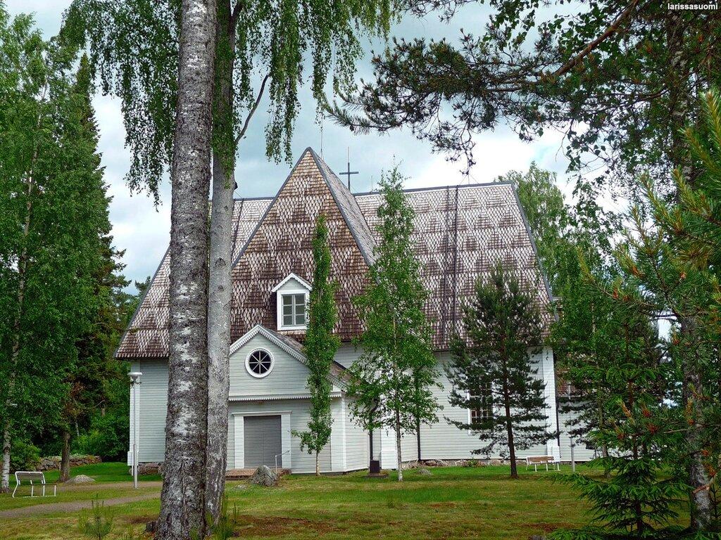 Elimäen kirkko - Лютеранская церковь, 1638 г.
