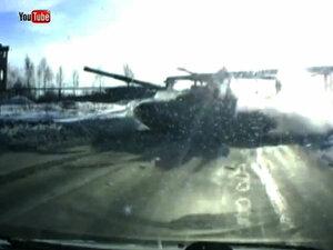 «Летающий танк» в Нижнем Тагиле поразил весь интернет