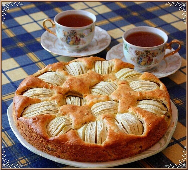 Детьми, картинки с чаем и пирогами