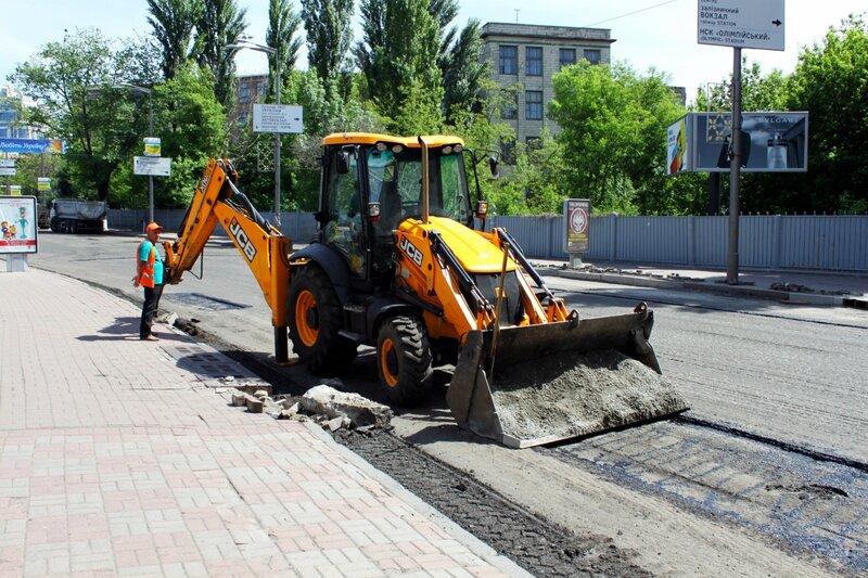Ремонт улицы Грушевского