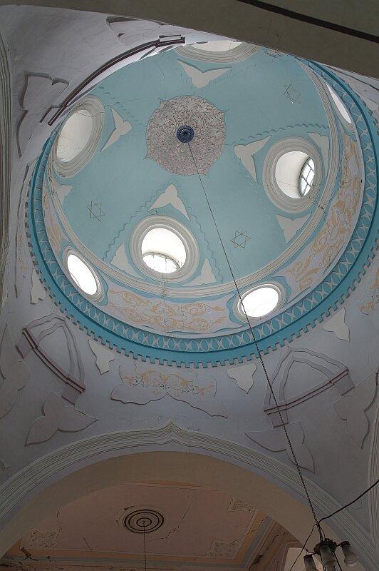 Синагога в городе Они. Купол