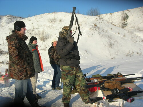 стрельбы зима 2012
