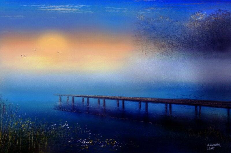 Пейзажи. Andre Kosslick.