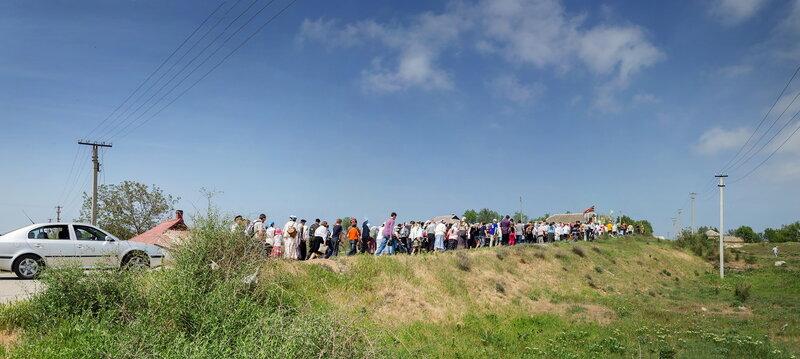 2013.05.06 Крестный ход в Катерлез в день святого Георгия