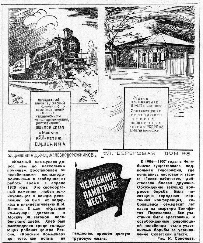 Челябинск: памятные места