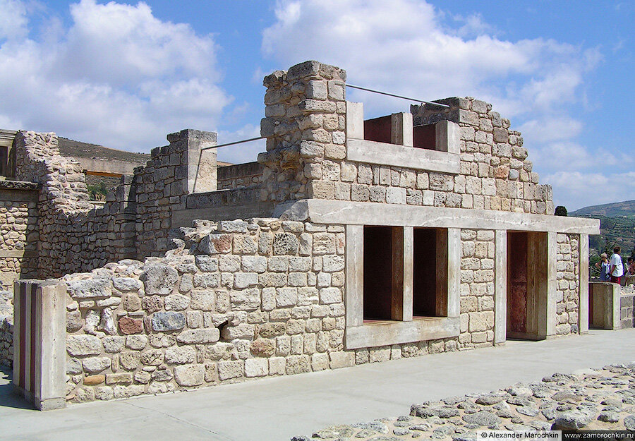 Археологический заповедник Кносс на острове Крит