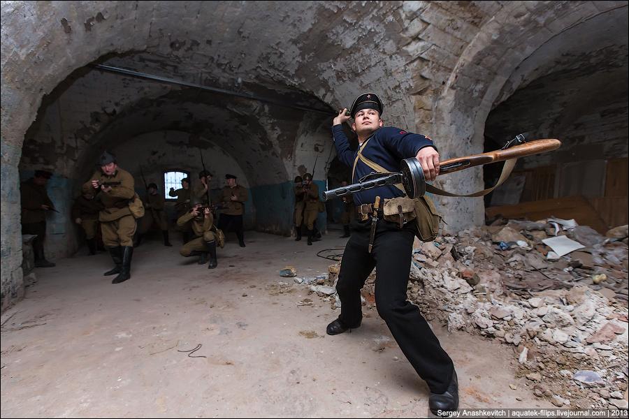 Оборона Михайловской батареи