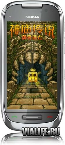 Игра Temple Run для Nokia Symbian^1(s60v5), Symbian^3, Anna