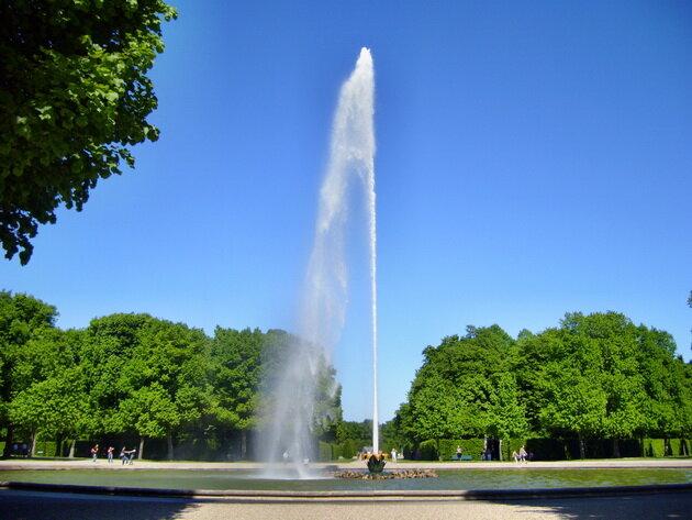 Королевские сады Херренхаузен. Германия
