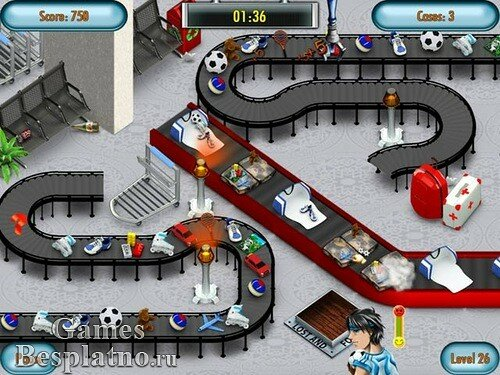 Airline Baggage Mania Deluxe