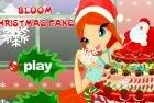 Игра с Блум винкс укрась новогодний торт +сюрпризик!