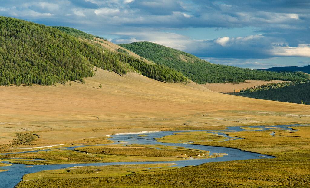 Исток реки Селенга, Монголия