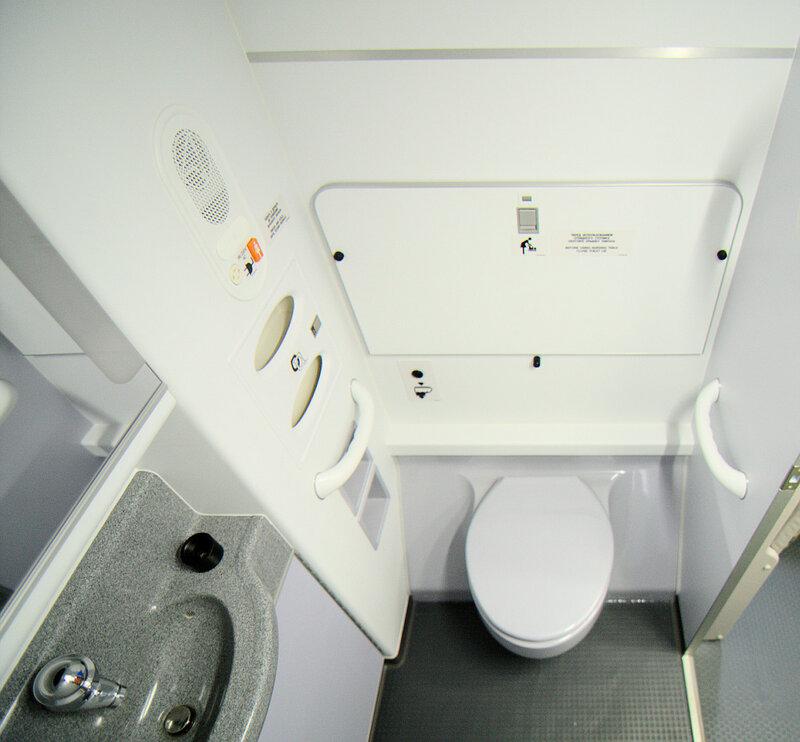 Туалет в хвосте