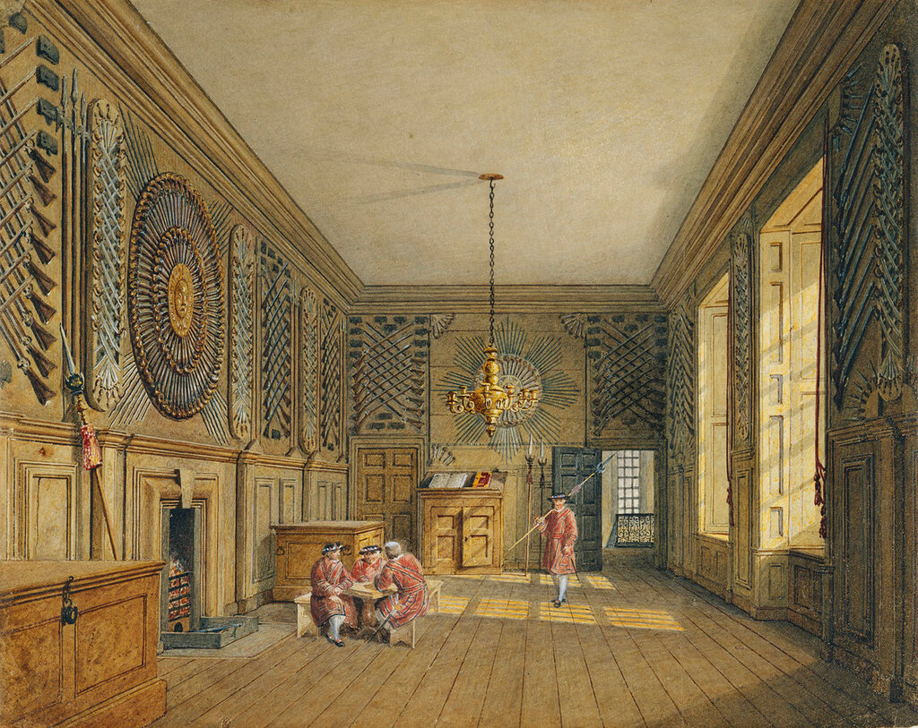 The Guard Chamber, St James's Palace