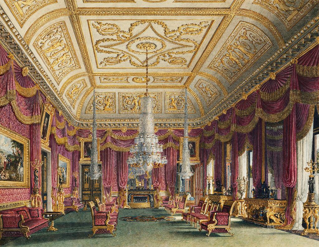 Малиновая гостиная, Carlton House.