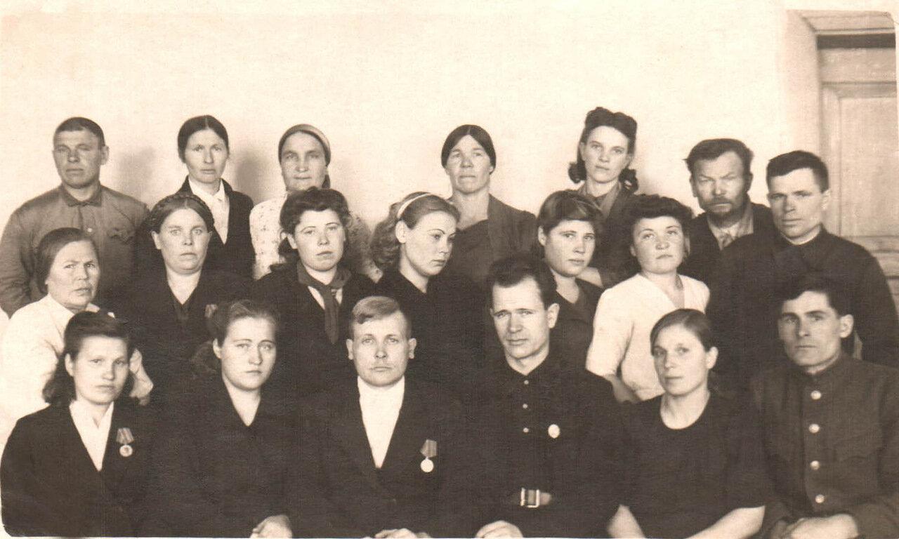 2. Технические работники и учителя.1946г.