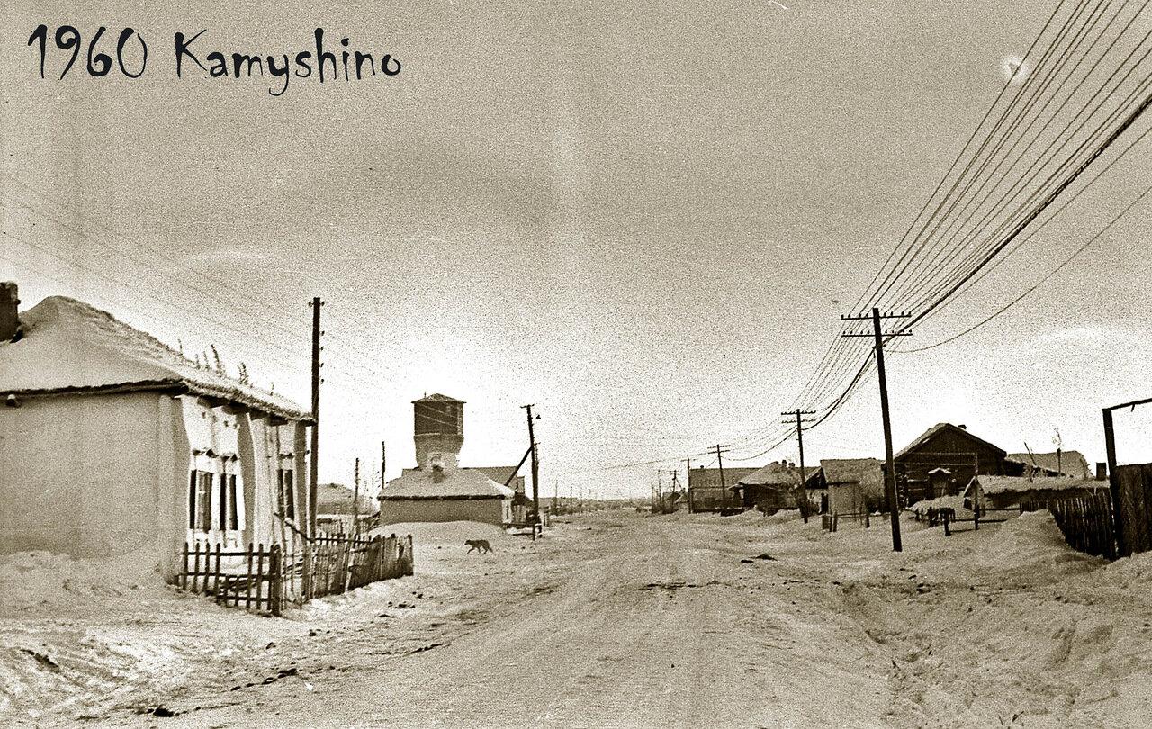 2. Камышино. Омская область. 1960 год