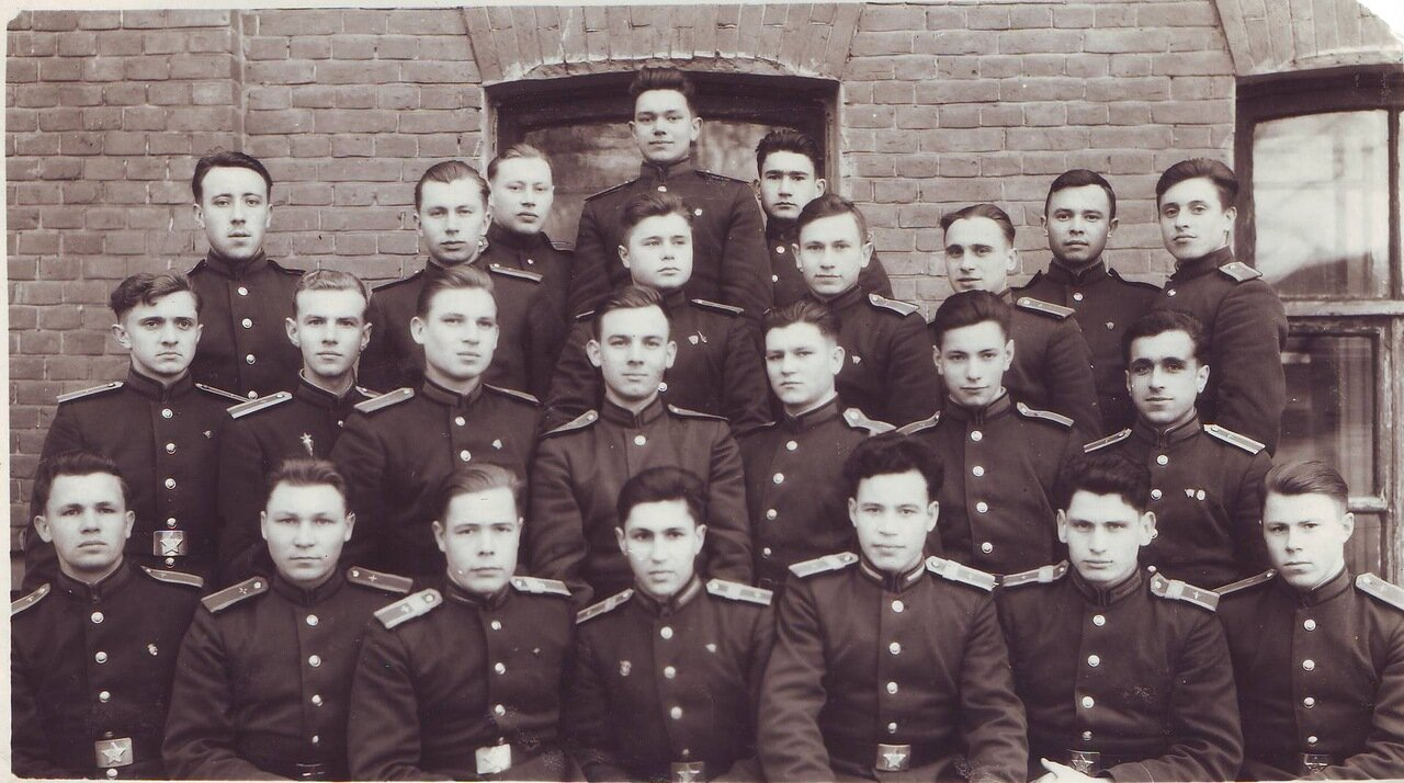 Курсанты 2-го курса, 1950 год.