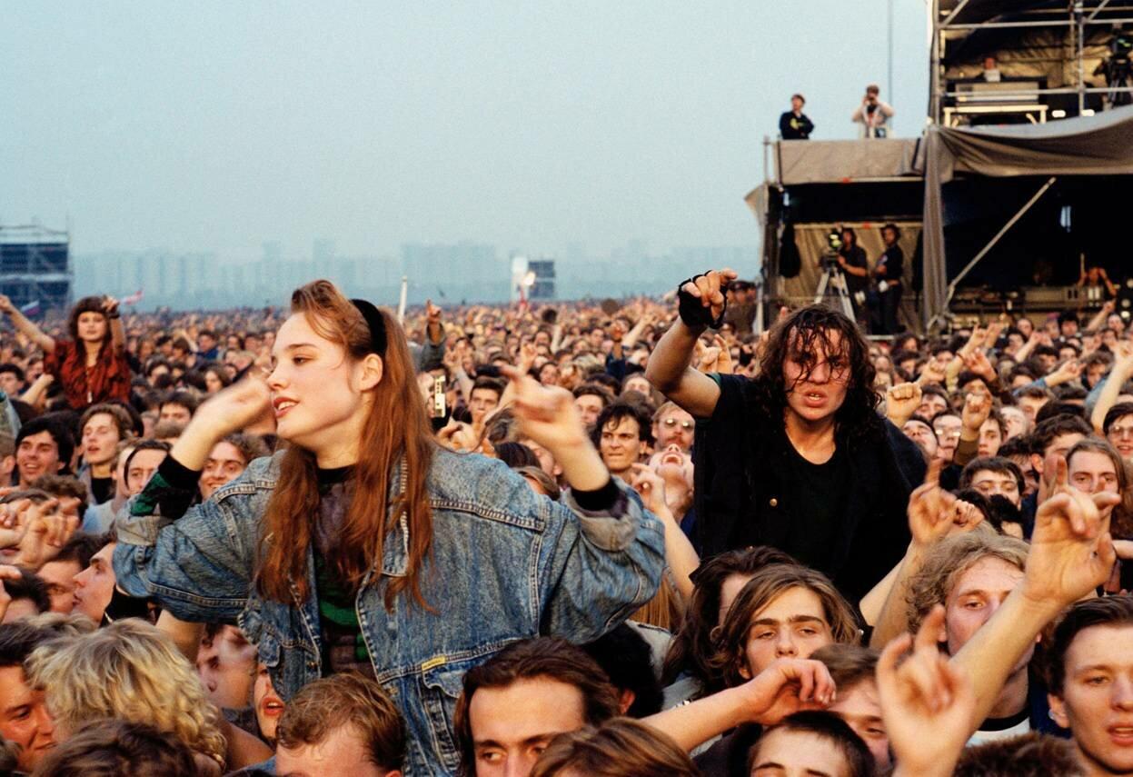 28 сентября 1991 г. Поклонники западного рока собрались на Московском стадионе