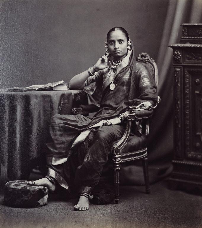 Махарани Джамнабай  (1853-98) из княжества Барода