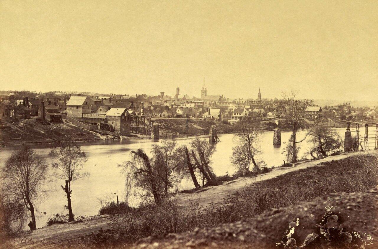 Фредериксберг, штат Вирджиния. Февраль 1863 г.