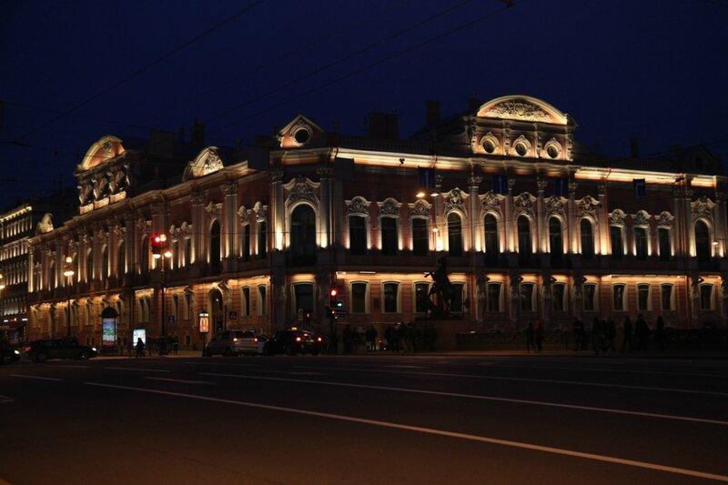 Санкт-Петербург - Движение в центре города
