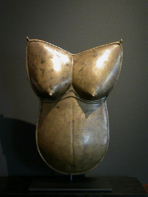 Female breastplate were used during the Dharmanema a festival in honor of  Bhuta deieties.Tulunadu district, Karnataka, India. XVIII century.