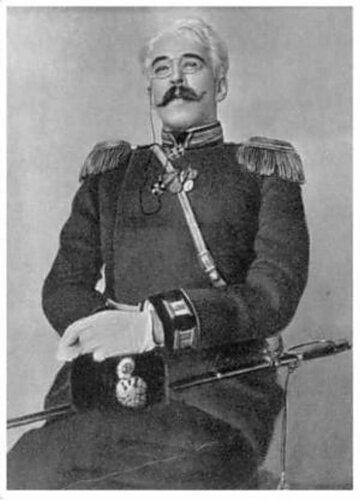 Константин Сергеевич Станиславский в роли Вершинина. Три сестры.