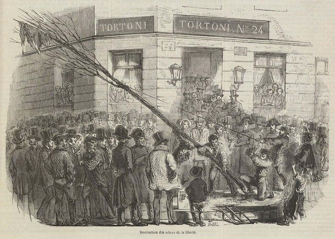 Франция, 1850 г., наступление реакции, НаполеонIII, 9 February 1850, Анри Валентин(1820-1855)