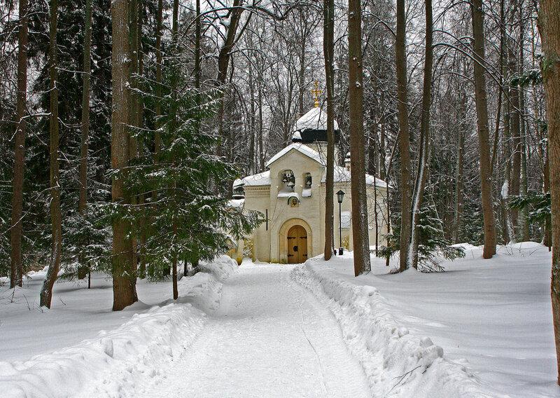 Музей - усадьба Абрамцево.Зима