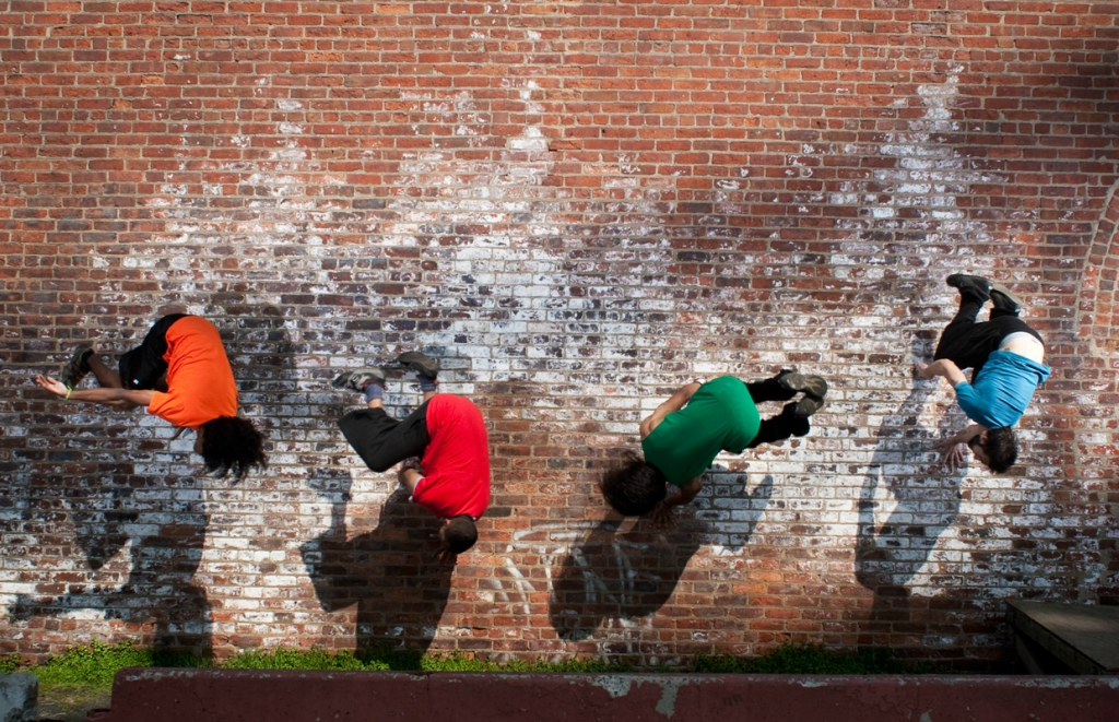 Parkour and motion