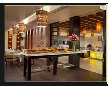Сейшелы. О.Праслин. Raffles Praslin Seychelles. Losean_Restaurant_-_Breakfast