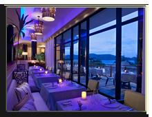 Сейшелы. О.Праслин. Raffles Praslin Seychelles. Losean_Restaurant_-_Dinner