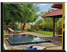Сейшелы. О.Сент-Ан. Sainte Anne Resort & SPA. Pool Villa