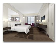 ОАЭ. Дубаи. Le Meridien Mina Seyahi Beach Resort & Marina. Deluxe Sea View Room - rendering