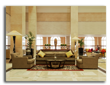 ОАЭ. Дубаи. The Westin Dubai Mina Seyahi Beach Resort & Marina. Lobby
