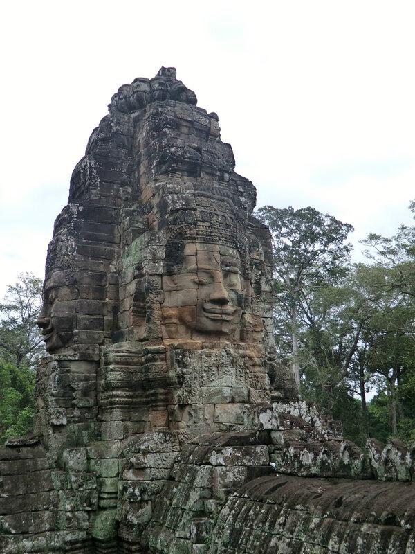 Камбоджа. Ангкор. Байон