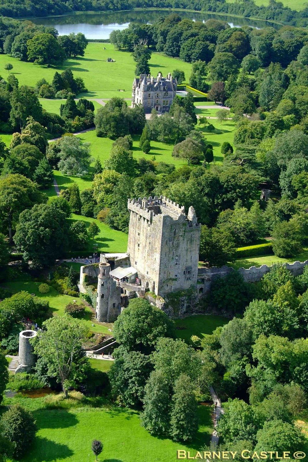 Blarney castle parking