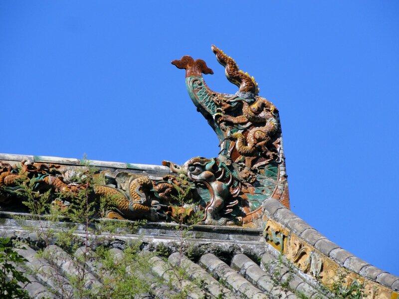 Чивэнь на крыше Шаолиня