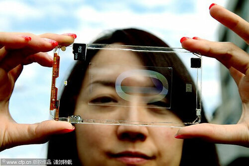 Прозрачные смартфоны? Вполне могут стать реальностью