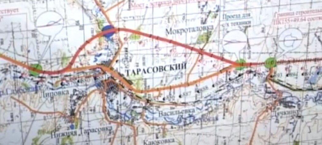 """М4 """"ДОН"""" план схема карта"""